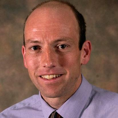 David Belbin, Canoe Foundation Trustee.